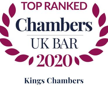 Kings Chambers ranked as leading set in 21 practice areas by Chambers and Partners