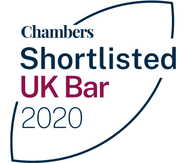 CHAMBERS UK BAR AWARDS 2020