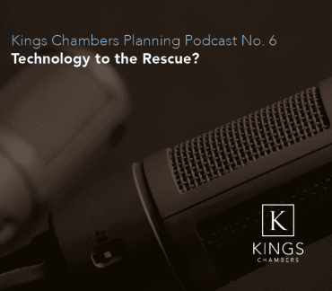 LISTEN NOW: Planning Podcast No. 6 – Technology to the Rescue?
