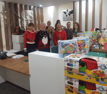 Kings Chambers Members and Staff Support Wood Street Mission Christmas Appeal