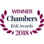 Chambers UK Bar 2018 - Winners Set