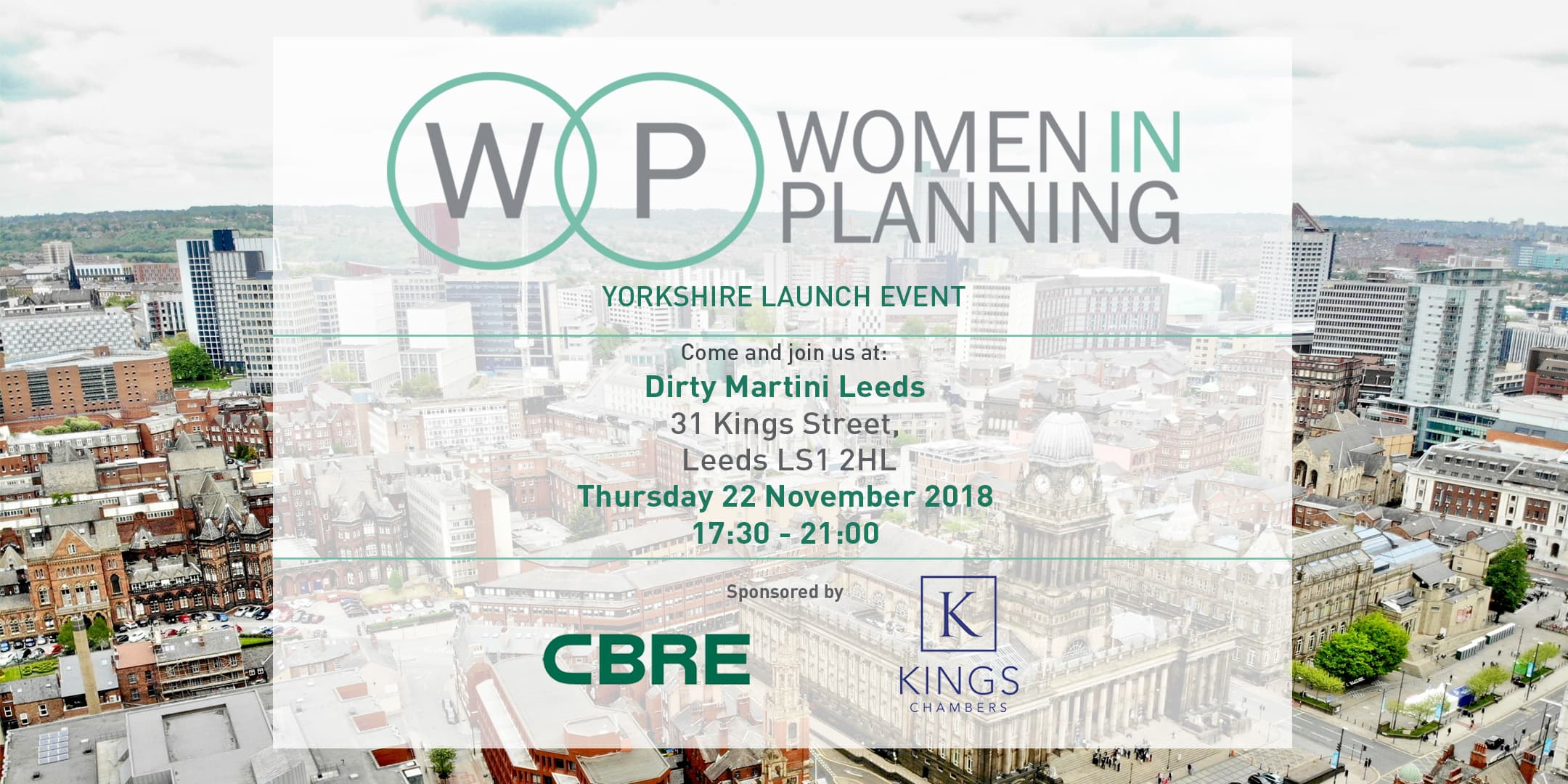 Kings Chambers supports Women in Planning Yorkshire launch